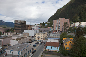 Juneau - a view from our Hotel
