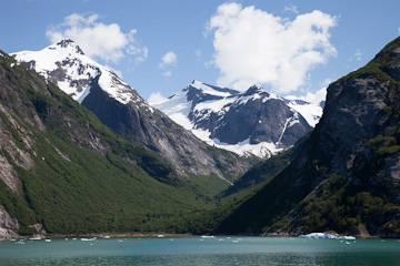 A nice view from Tracy Arm