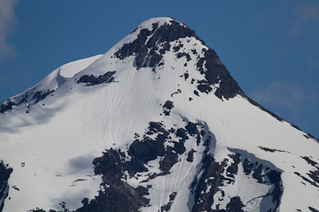 A far-away peak, from Tracy Arm