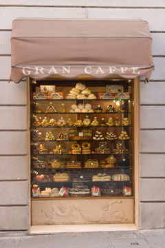 sweets in Assisi