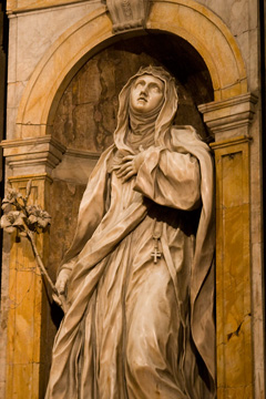 Bernini sculpture of Mary Magdaline