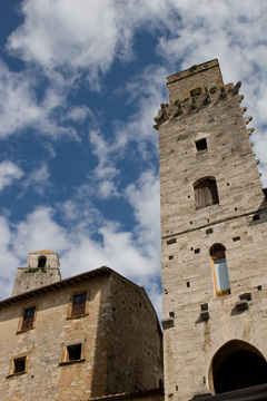A tower in San Gimignano