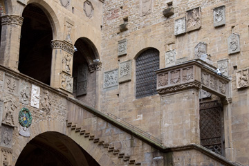 Courtyard at the Bargello Museum