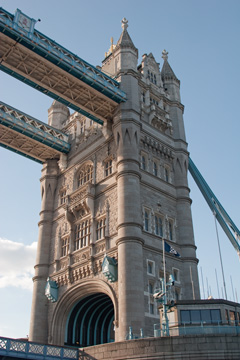 Tower Bridge, from the Thames