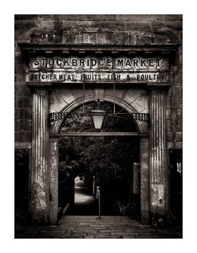 Stockbridge gate, Edinburgh