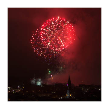 Fireworks over Edinburgh -- the 2013 Edinburgh Festival