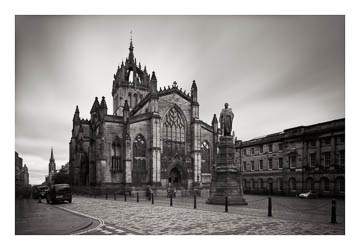 St Giles' Cathedral, Edinburgh - 40-second exposure