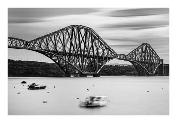 Forth Bridge, Scotland - long exposure