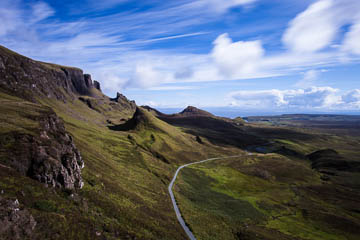 The Quiraing, Isle of Skye, Scotland - a long exposure