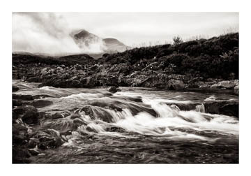 Falls at Sligachan, Isle of Skye, Scotland