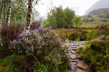Lost Valley trail, Glencoe, Scotland