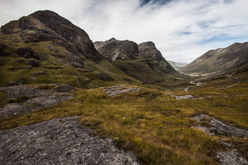 "Glencoe and the ""Three Sisters,"" Scotland"